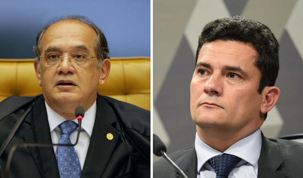 Gilmar Mendes e Sergio Moro