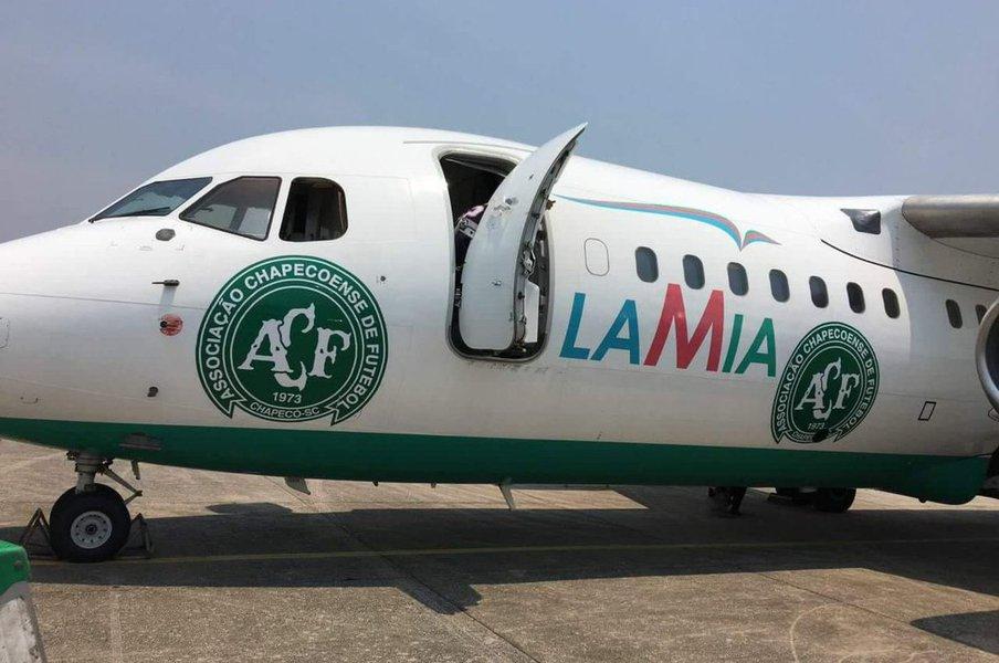 avião, Lamia, Chapecoense