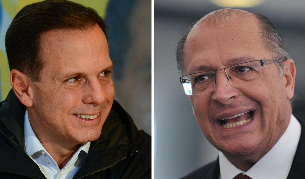 Montagem doria Alckmin