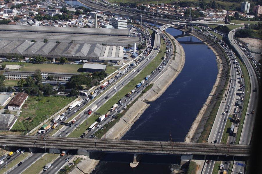 Marginal Tietê em São Paulo