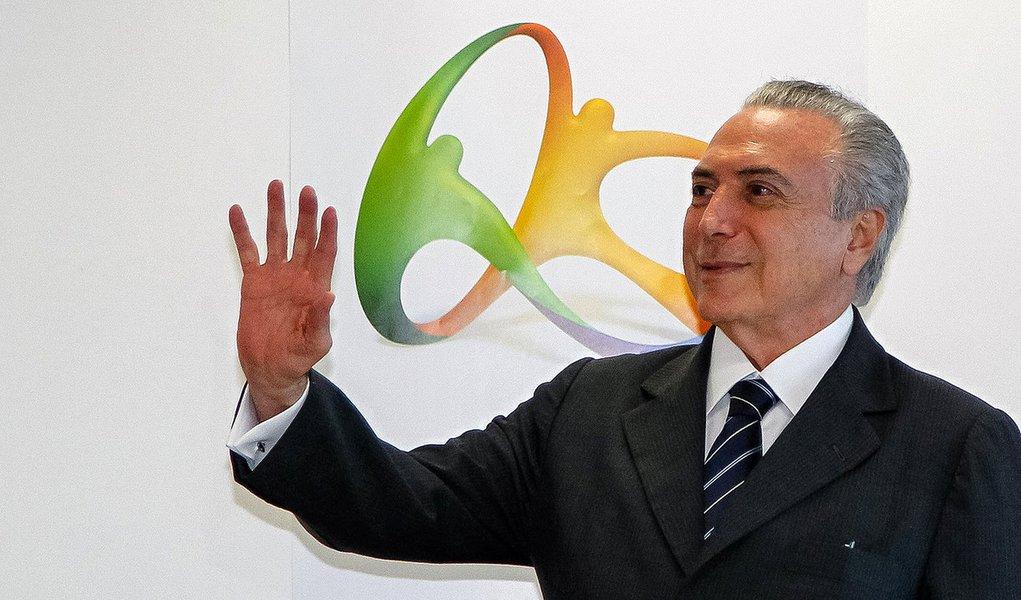 Rio de Janeiro - RJ, 18/08/2016. Presidente em Exercício Michel Temer, durante reunião de Balanço dos Jogos Olímpicos Rio 2016. Foto: Beto Barata/PR