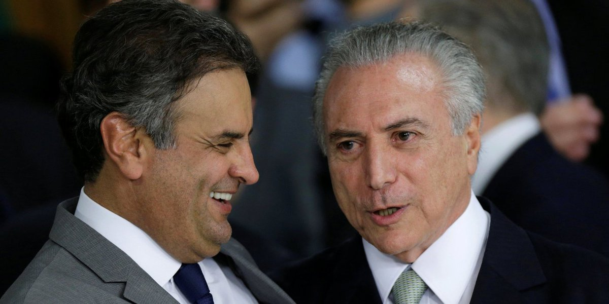 Michel Temer Aécio Neves