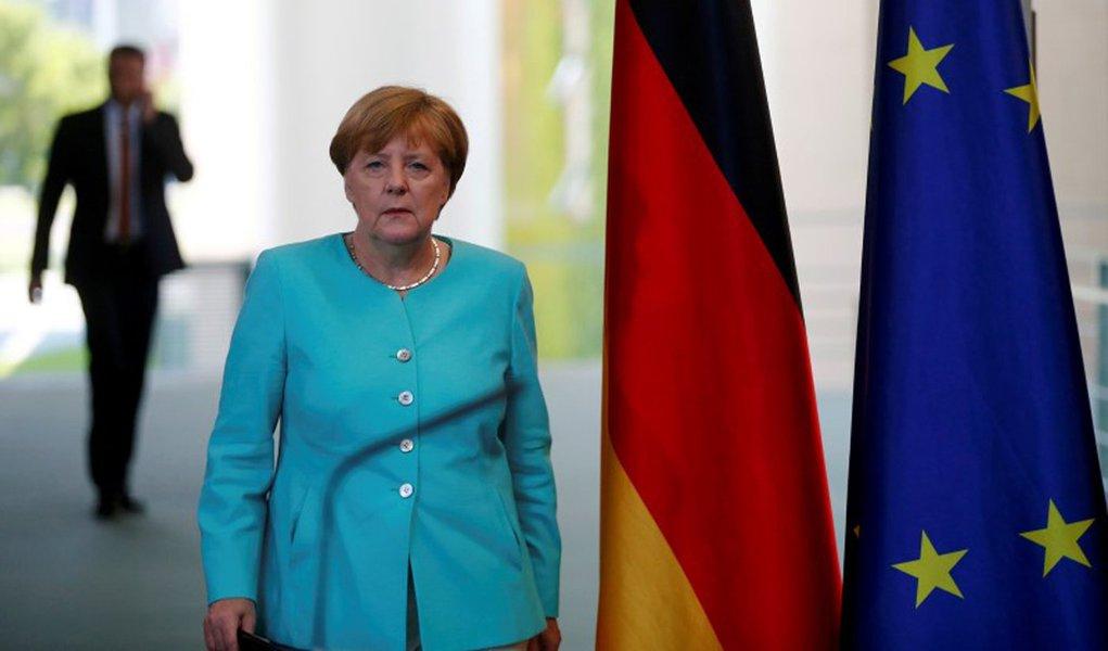 Chanceler alemã, Angela Merkel, durante evento em Berlim. 24/06/2016 REUTERS/Hannibal Hanschke