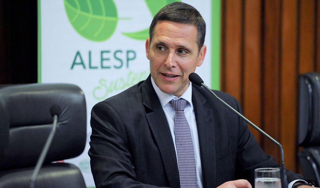 1º/09/2016- O presidente da Assembleia Legislativa de São Paulo, Fernando Capes (PSDB-SP). Foto: ALESP