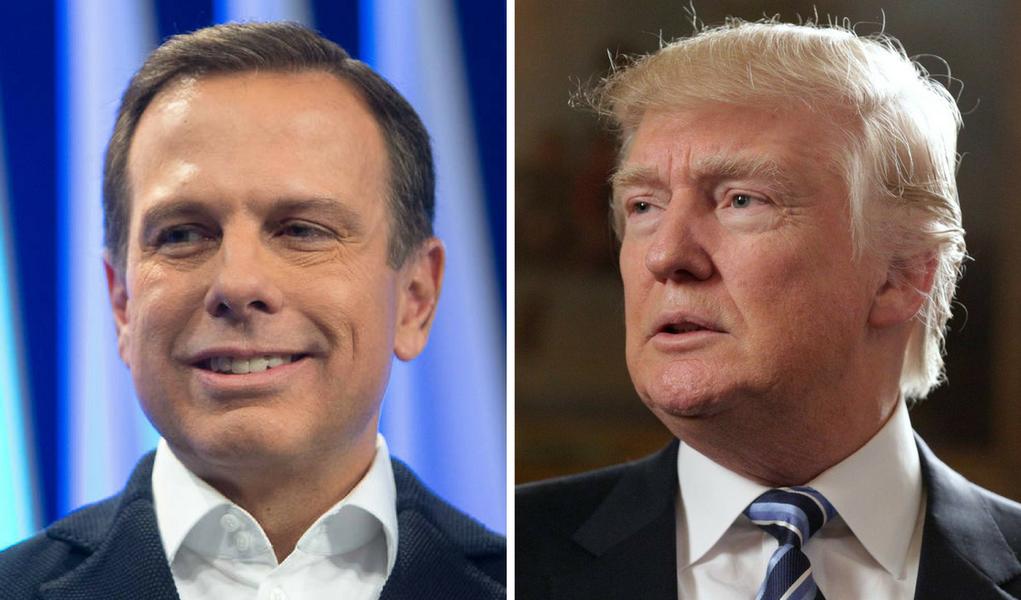 João Doria e Donald Trump