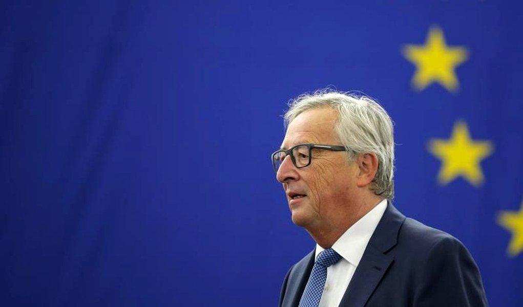 Presidente da Comissão Europeia, Jean-Claude Juncker. 14/09/2016 REUTERS/Vincent Kessler
