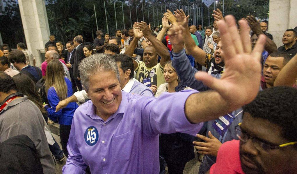 Belo Horizonte_MG, 28 de julho de 2016 Convencao partidaria do PSDB, na qual Joao Leite foi eleito candidato a prefeito de Belo Horizonte. Foto: NITRO