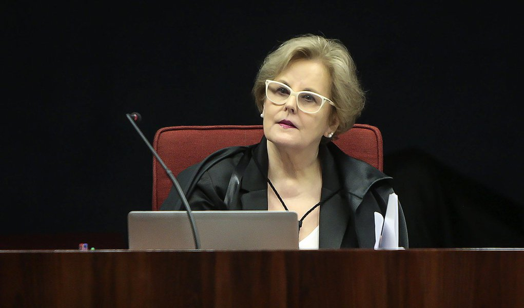 Brasília- DF- Brasil 01/03/2016- Ministra Rosa Weber durante sessão da 1ª turma do STF. Foto: Dorivan Marinho/SCO/STF (01/03/2016)