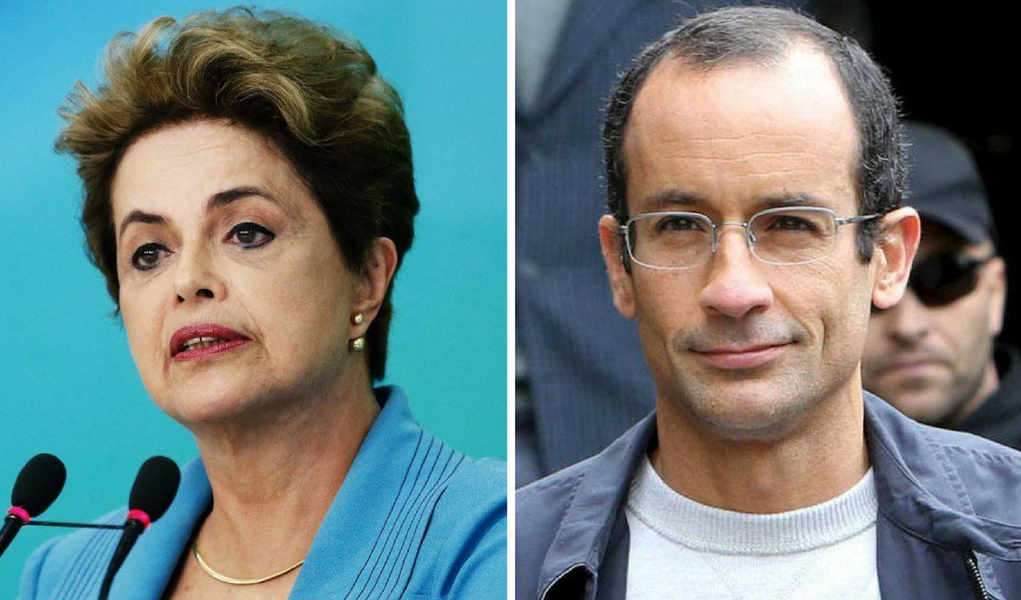 Dilma Rousseff e Marcelo Odebrecht