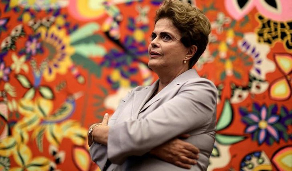 Dilma durante entrevista em Brasília 14/6/2016 REUTERS/Ueslei Marcelino
