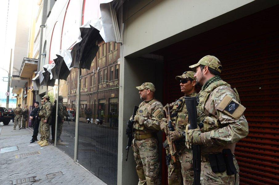 São Paulo - Polícia Federal faz buscas na sede do PT em São Paulo (Rovena Rosa/Agência Brasil)