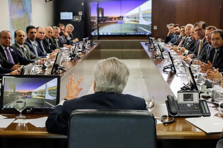 Presidente Michel Temer durante reunião com o Conselho Nacional do Sesi. (Brasília - DF, 13/09/2016) Foto: Carolina Antunes/PR