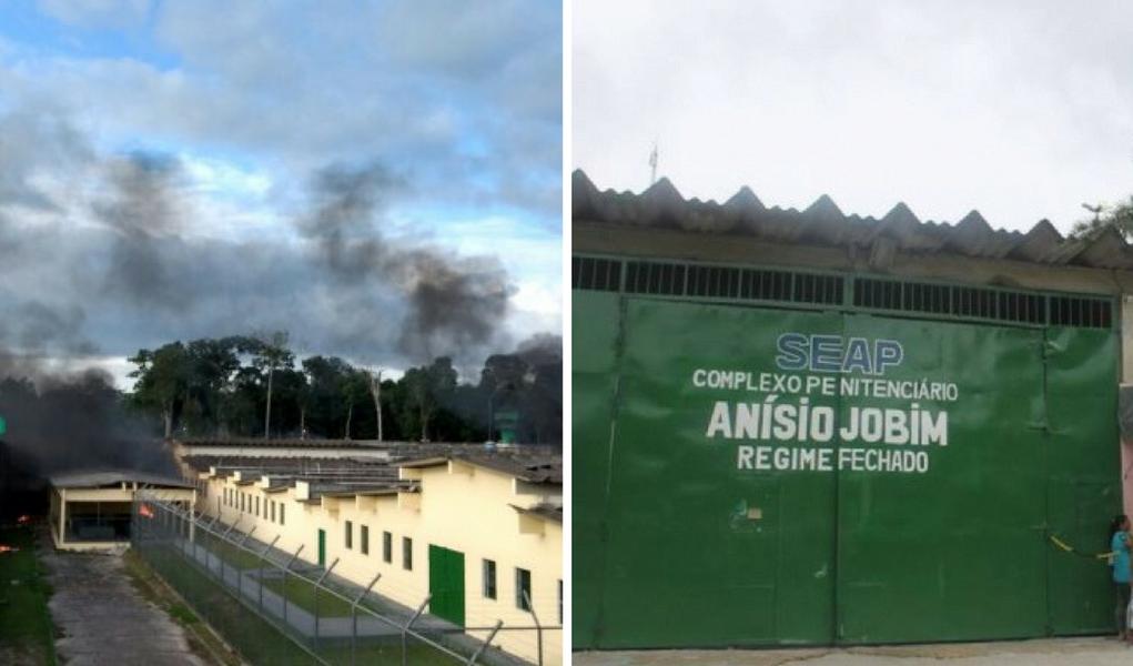 Rebelião Compaj Manaus