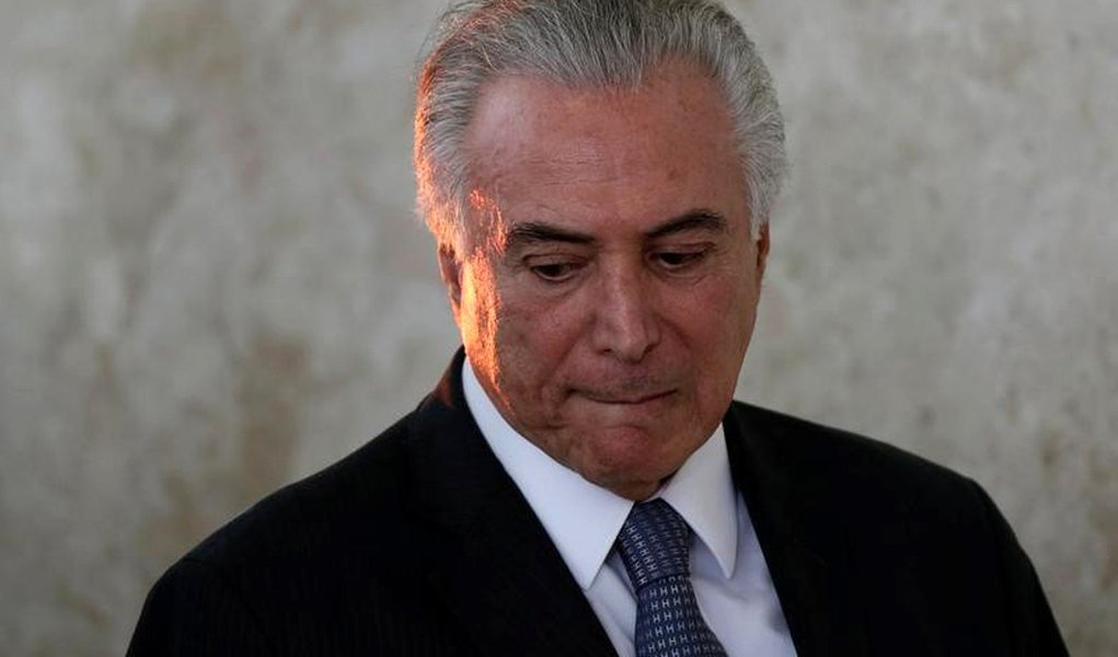 Temer, durante evento no Palácio do Planalto 22/9/2016 REUTERS/Ueslei Marcelino