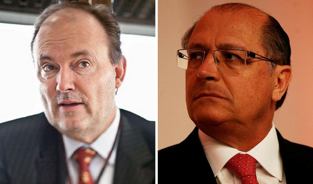 Benedicto Barbosa da Silva Júnior e Geraldo Alckmin