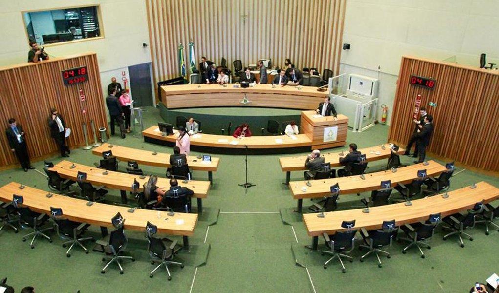 Brasília (DF). Sessão da Câmara Legislativa do DF (CLDF). Foto: Leonardo Arruda/Esp. Metrópoles