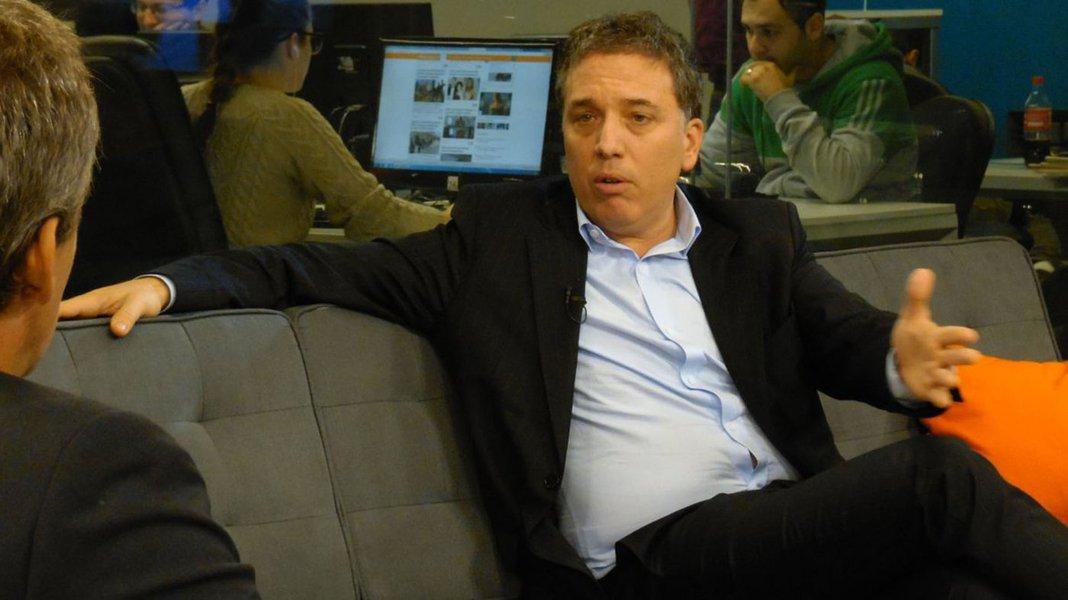Ministro da Fazenda da Argentina,Nicolás Dujovne