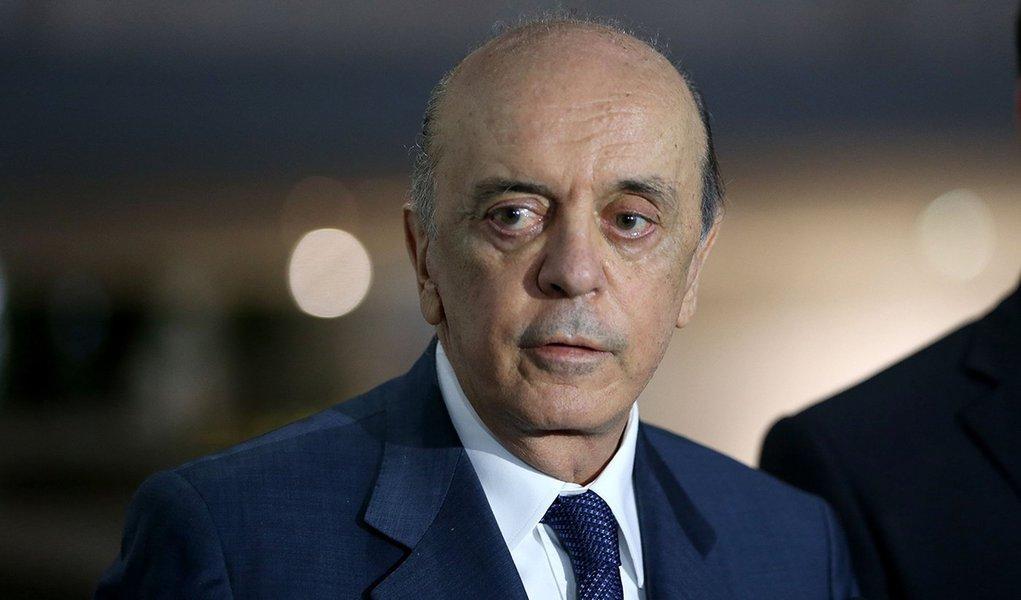 Brasília - Entrevista do ministro de estado das Relações Exteriores, José Serra (Wilson Dias/Agência Brasil)