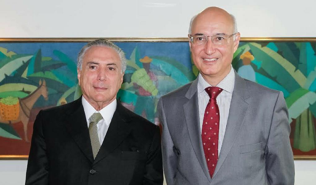 Ives Gandra Filho e Michel Temer
