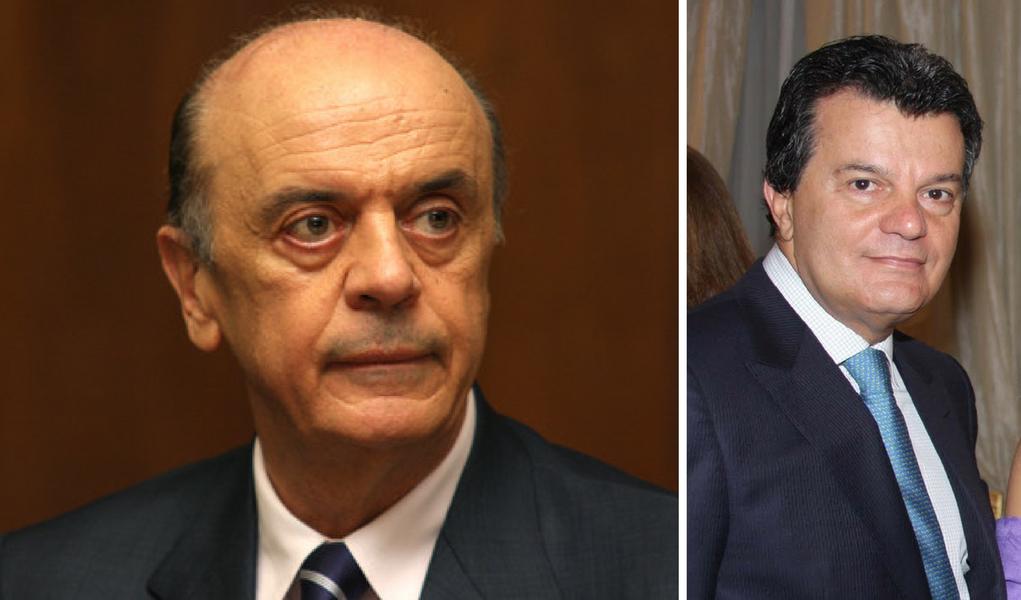 José Serra e Ronaldo Cézar Coelho