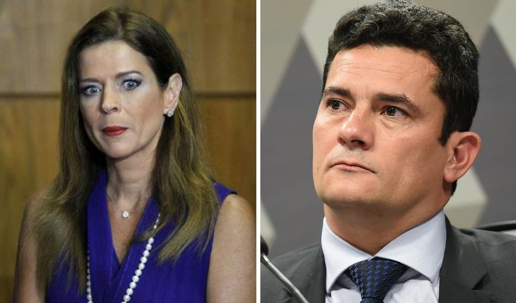 Cláudia Cruz e Sergio Moro