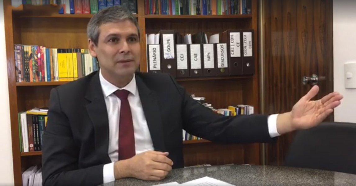 Lindbergh Farias entrevista