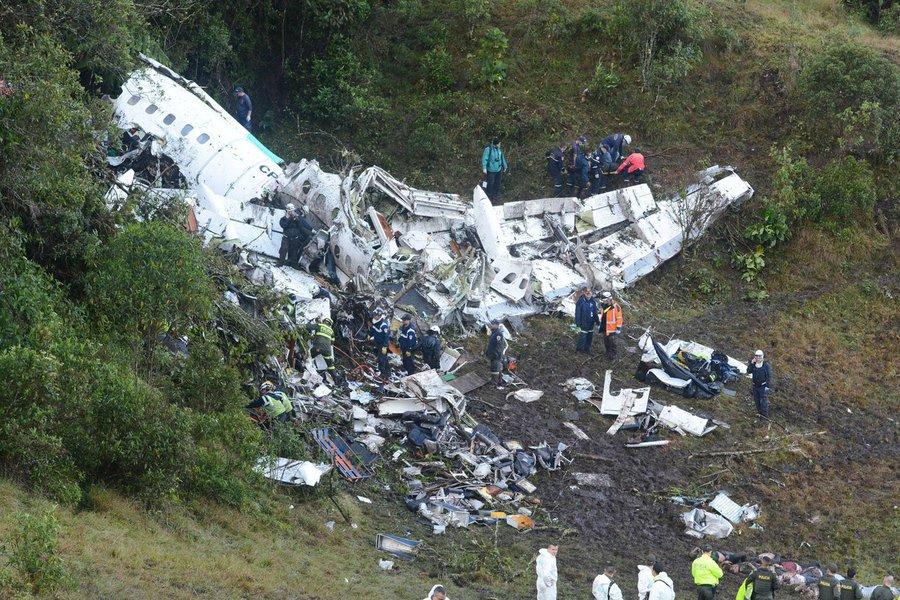 Acidente com avião da Chapecoense