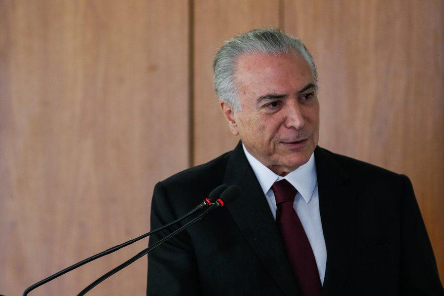 (Brasília - DF 06/12/2016) Presidente Michel Temer durante Cerimônia de assinatura do Contrato de Estruturação Financeira da Santa Casa de São Paulo. Foto: Beto Barata/PR/PR