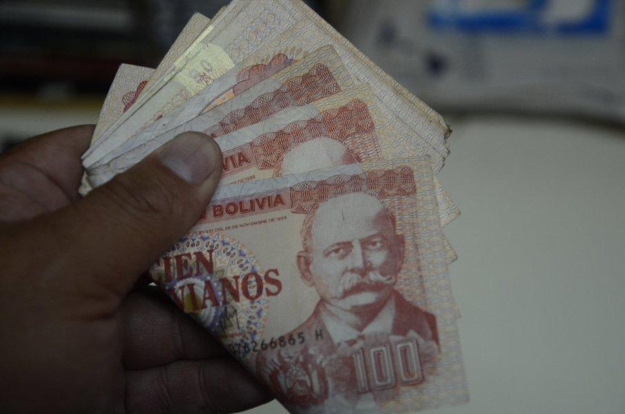 Bolívia, dinheiro
