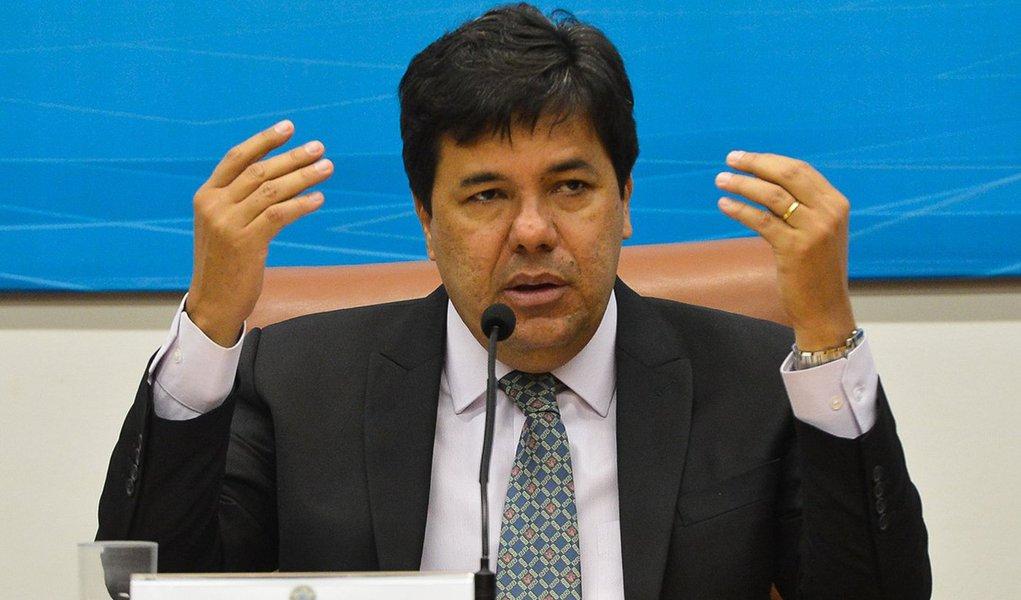Brasília - O ministro da Educação, José Mendonça Bezerra Filho,dá posse hoje aos novos membros do Conselho Nacional de Educação. (Antônio Cruz/AgênciaBrasil)