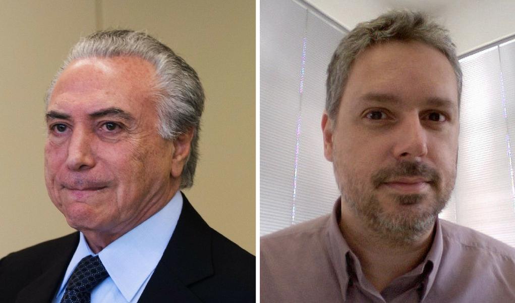 José Roberto de Toledo e Michel Temer