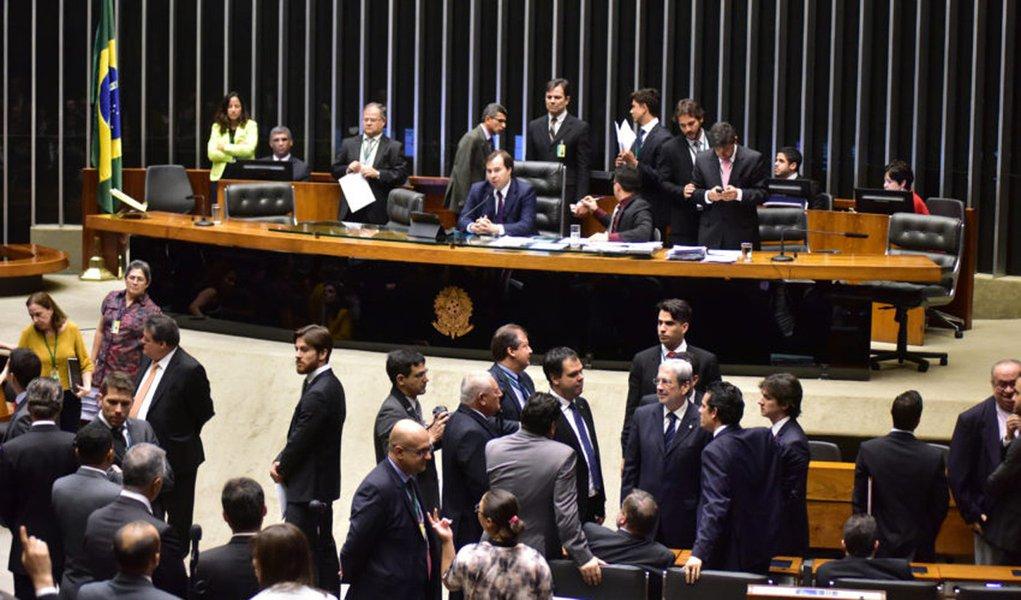 Brasília- DF- Brasil- 25/10/2016- Sessão extraordinária da Câmara dos Deputados, para discussão e votação de diversos projetos. Foto: Zeca Ribeiro/ Câmara dos Deputados