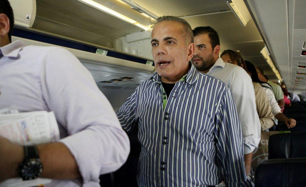 Líder de oposição venezuelano,Manuel Rosales