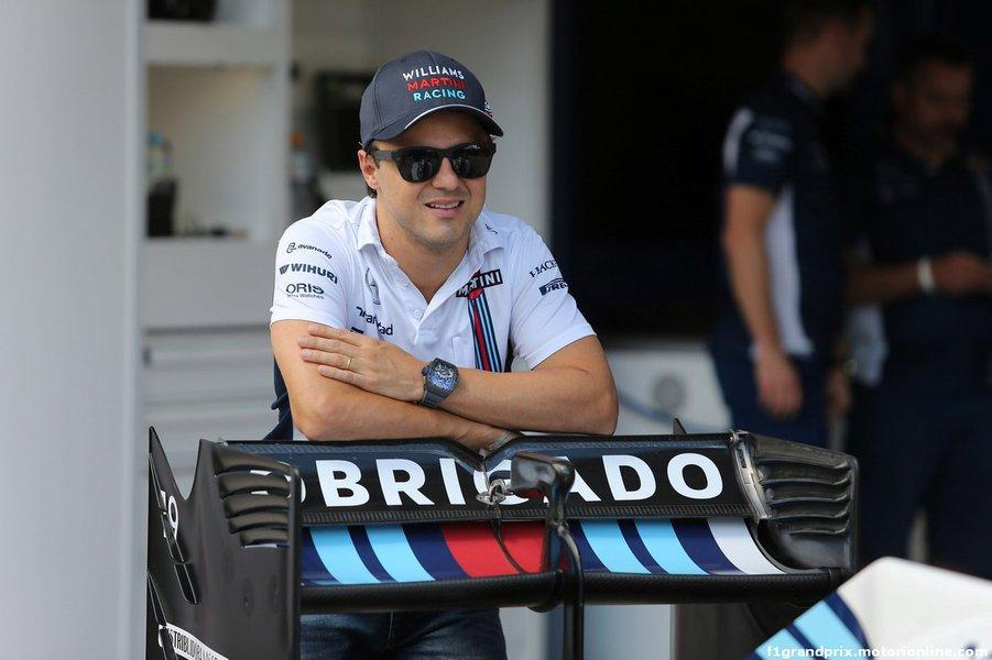 10.11.2016 - Felipe Massa (BRA) Williams FW38