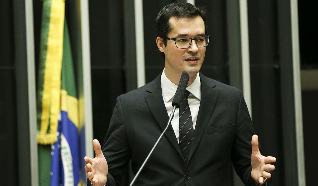 Brasília - O Procurador da República, coordenador da Força Tarefa do Ministério Público Federal na Operação Lava Jato, Deltan Dallagnol