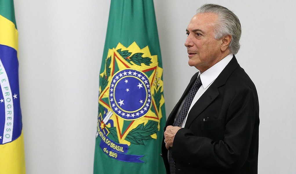 Brasília - Presidente Interino Michel Temer reúne ministros para discutir o plano para as fronteiras (Valter Campanato/Agência Brasil)