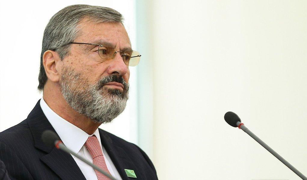 Brasília - O novo ministro da Transparência, Fiscalização e Controle, Torquato Jardim, durante entrevista coletiva no Palácio do Planalto (Marcelo Camargo/Agência Brasil)