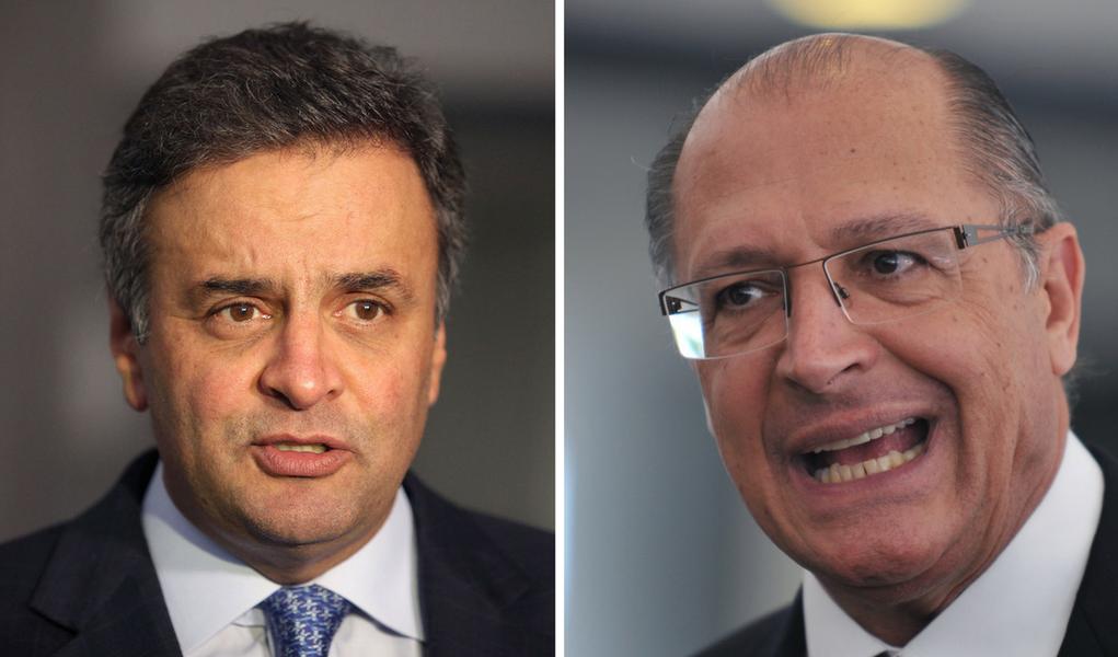Geraldo Alckmin e Aécio Neves