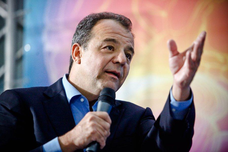 Rio de Janeiro; 31-07-2013; Governador Sérgio Cabral na inauguração do Instituto Estadual do Cérebro Paulo Niemeyer; fotógrafo:Bruno Itan
