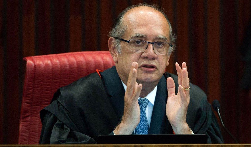 Bras�lia - O ministro Gilmar Mendes foi eleito hoje (7) o pr�ximo presidente do Tribunal Superior Eleitoral (TSE). Ele vai substituir o atual presidente, Dias Toffoli, a partir de maio (Jos� Cruz/Ag�ncia Brasil)