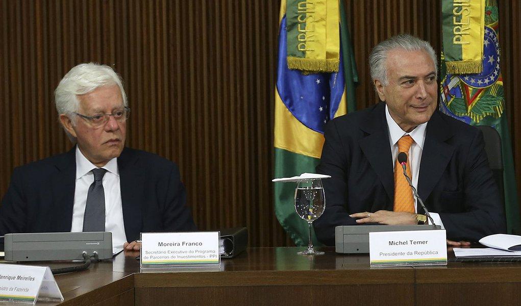 Brasília - O Presidente Michel Temer reunião do Conselho do Programa de Parcerias e Investimentos (PPI), no Palácio do Planalto (Antonio Cruz/AGência Brasil)