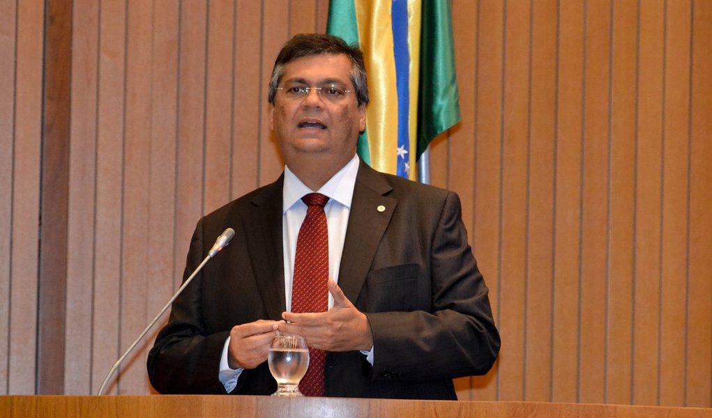 Governador Flávio Dino participou da sessão solene da abertura dos trabalhos do Poder Legislativo do Maranhão. Foto: Divulgação