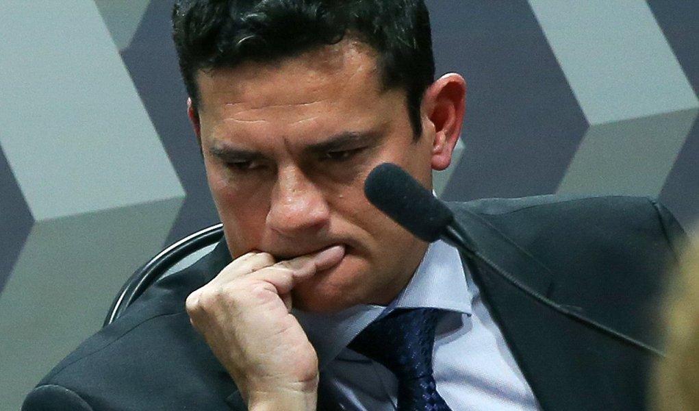 Brasília- DF 09-09-2015 Foto Lula Marques/Agência PT Juiz, Sergio Moro na ccj do senado.