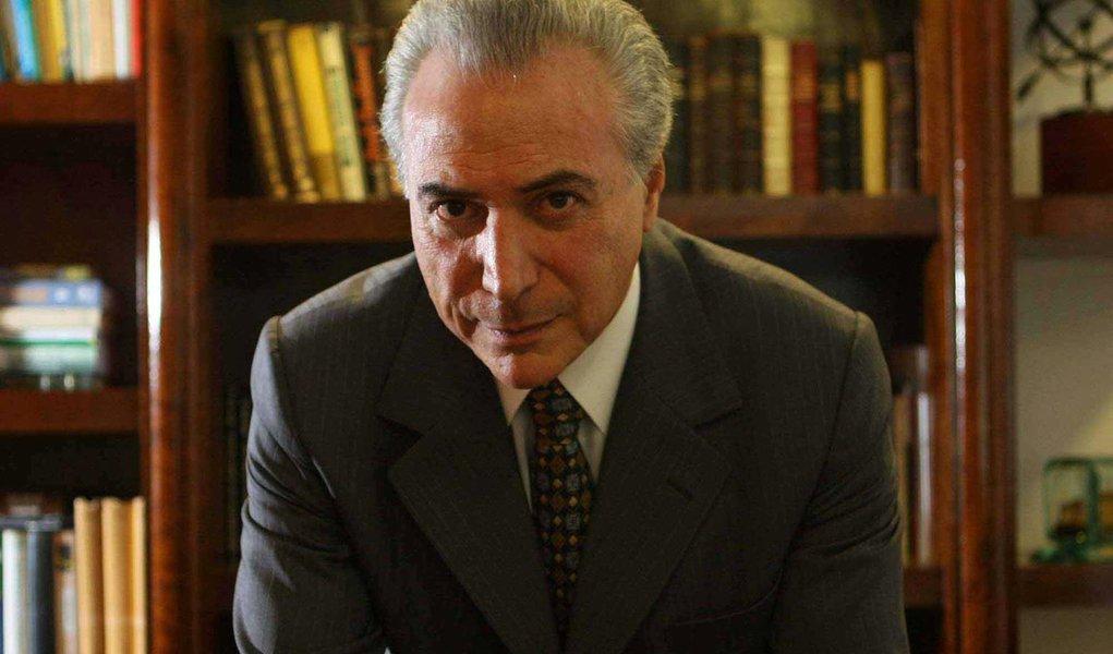 Deputado federal e presidente da C�mara dos Deputados, Michel Temer, do PMDB-SP, em seu escrit�rio no bairro do Itaim.