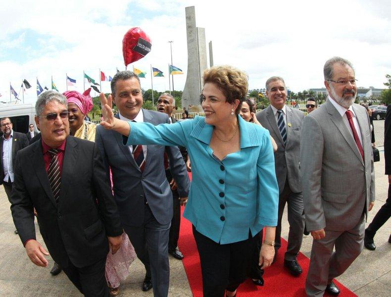 Salvador- BA- Brasil- 16/06/2016- Governador Rui Costa participa da outorga do Título de Cidadã Baiana a presidente eleita Dilma Rousseff, na Assembleia Legislativa da Bahia (ALBA).