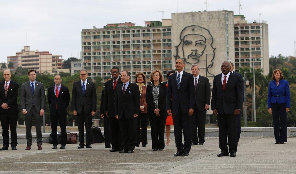 21/03/2016 - Havana, Cuba - Llegada al Palacio de la Revolución del presidente de los Estados Unidos, Barack Obama. Llegada al Palacio de la Revolución del presidente de los Estados Unidos, Barack Obama. 21/03/2016