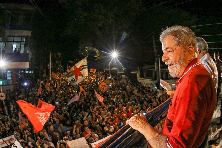 São Bernardo do Campo- SP- Brasil- 04/04/2016- Ex-presidente Lula, durante ato no Sindicato dos Metalúrgicos do ABC, em São Bernardo do Campo. Foto: Ricardo Stuckert/ Instituto Lula