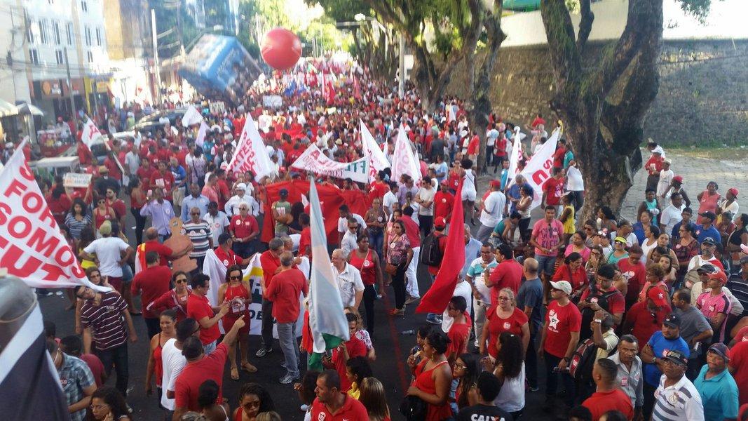 Manifestação contra impeachment Salvador