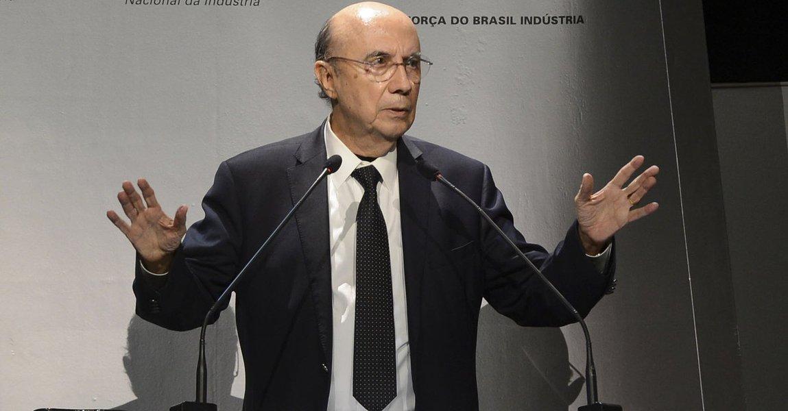Brasília - Ex-presidente do Banco Central Henrique Meirelles fala para líderes empresariais, parlamentares e representantes do governo no 10º Encontro Nacional da Indústria (Enai) 2015 (Valter Campanato/Agência Brasil)