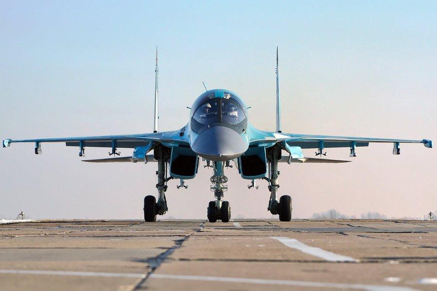 Caça russo Sukhoi 34 (SU-34)